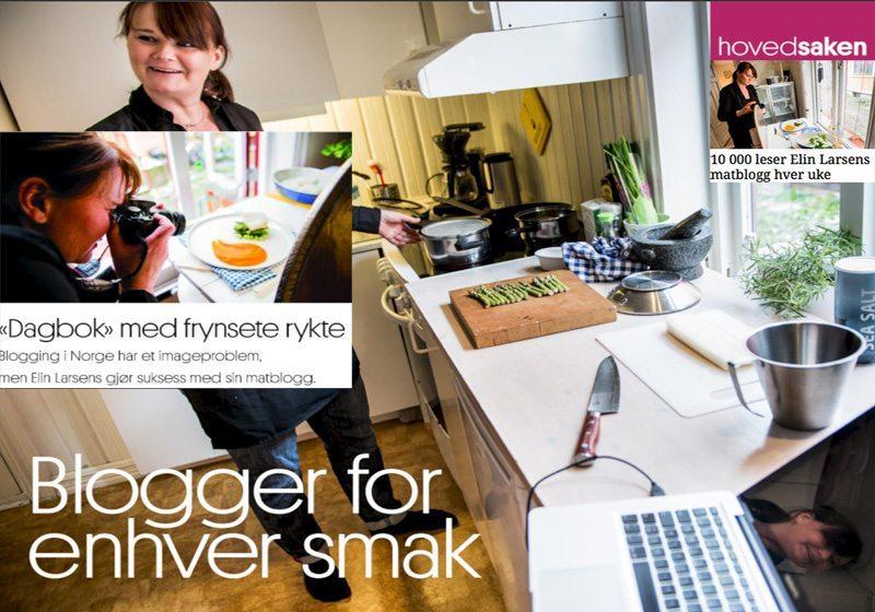 Adressa Elin Larsen om suksess matblogging