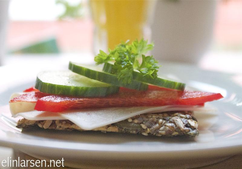 Frøknekkebrød- sunn frokost