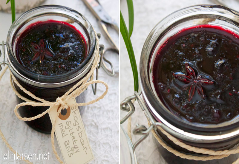 Skogsbærsyltetøy med anis