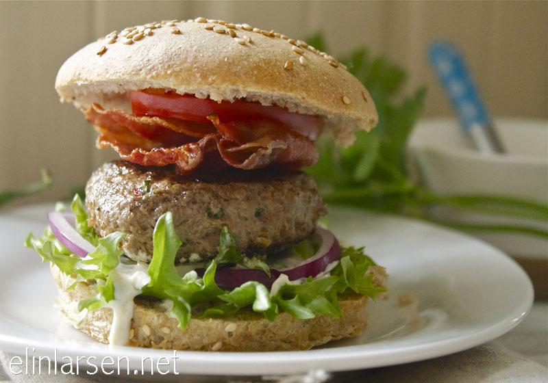 Grove og luftige hamburgerbrød