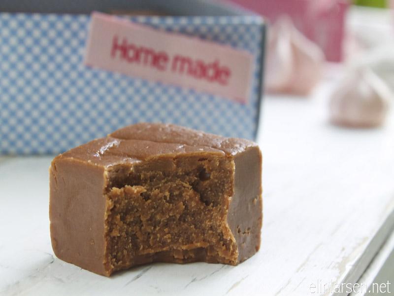 Sjokoladefudge hjemmelaget