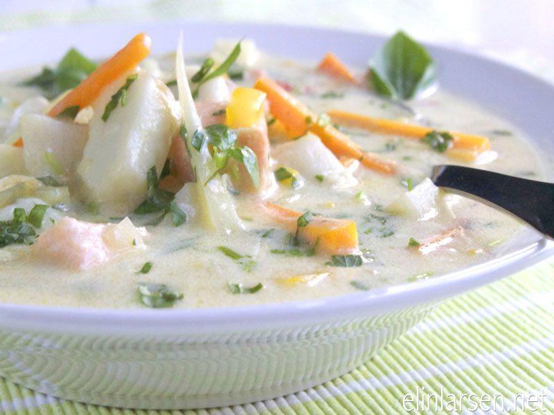 Fiskesuppe (kremet)