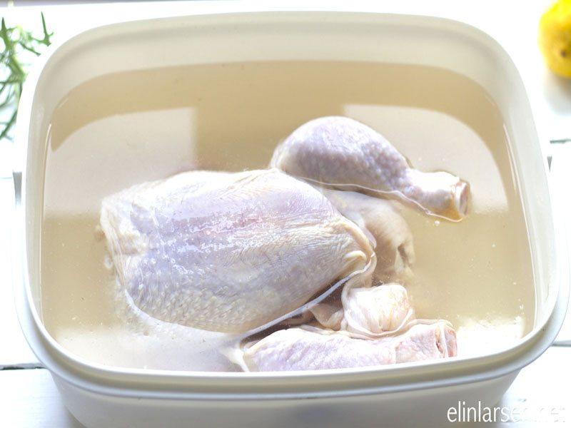 Kylling i saltlake
