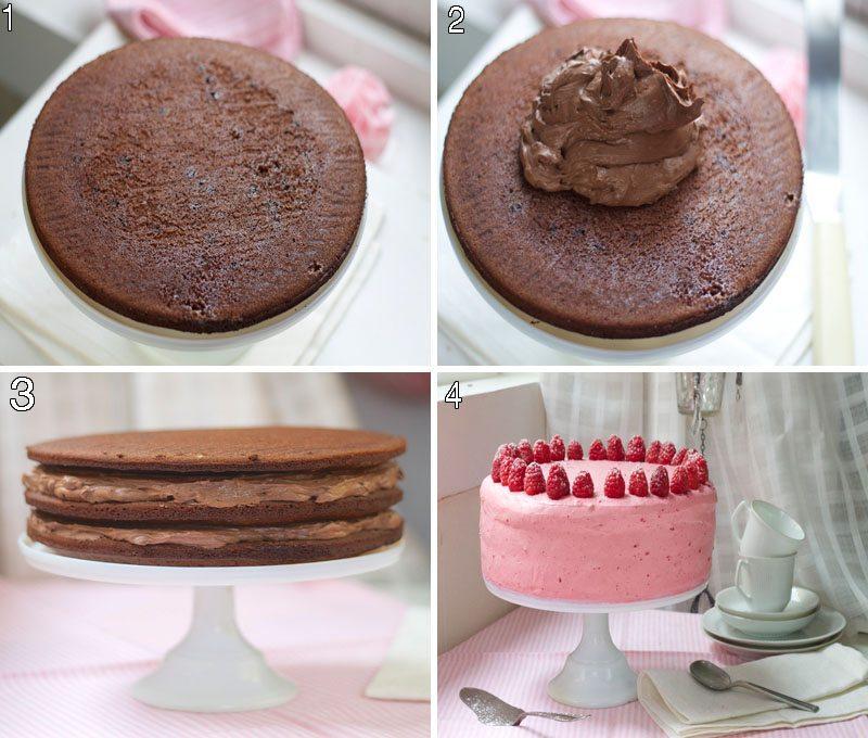 Oreosjokoladekake