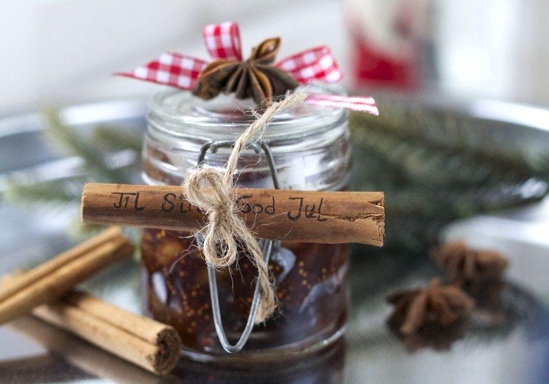 Fikenmarmelade- flott julegave
