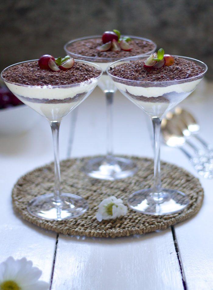 Dronning Maud fromasj dessert