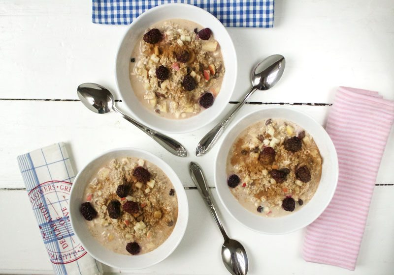 proteinrik overnight oats