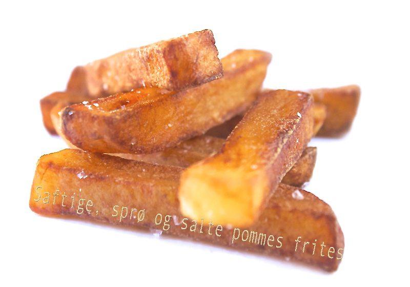 Perfekte pommes frites av Heston