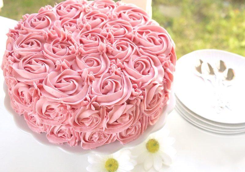 Vakker rosekake