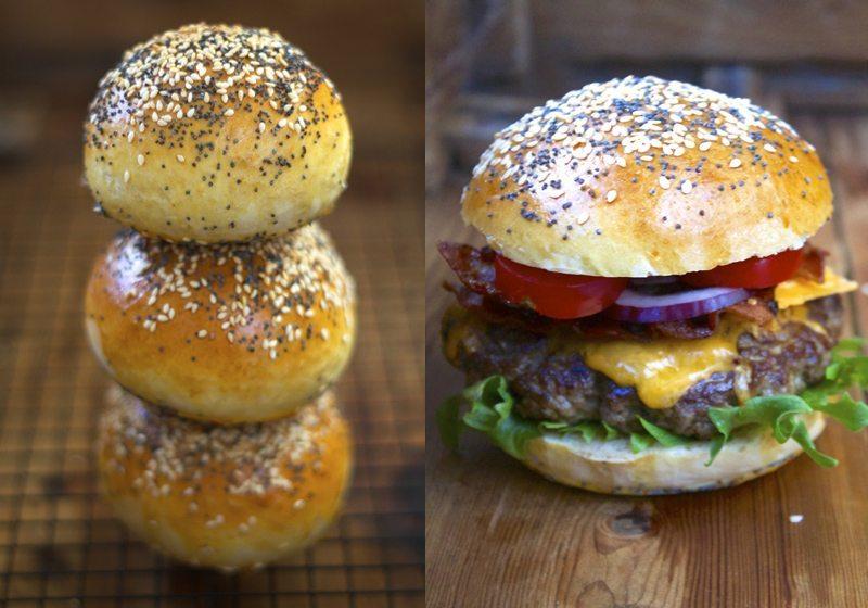 Best kjottburger med beste hamburgerbrod