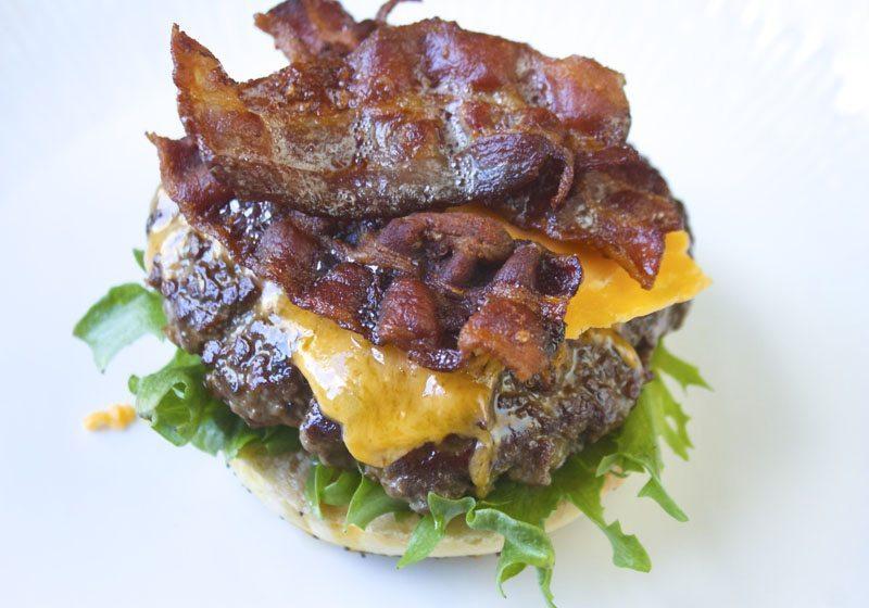 Burger av Angus kjottdeig fra Prima Jaeren