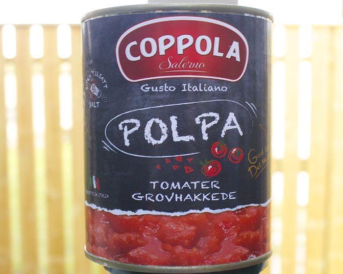 Coppola vant testen best på smak
