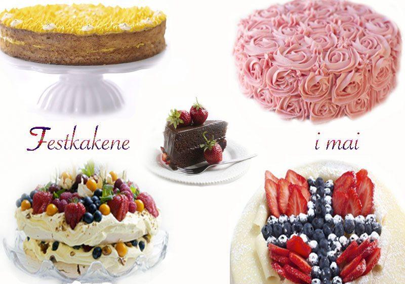 kakefavoritter til festlige maidager