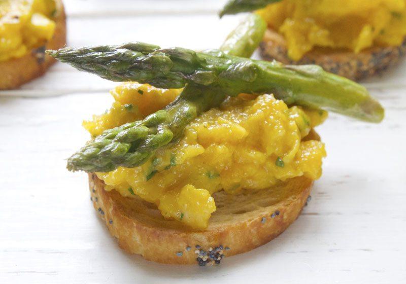 toast med eggerore