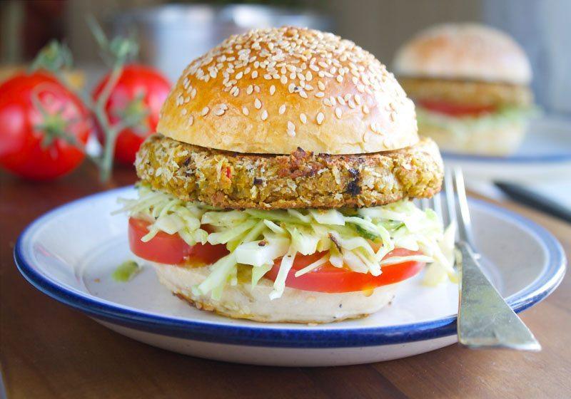 kjottfrie proteinburgere