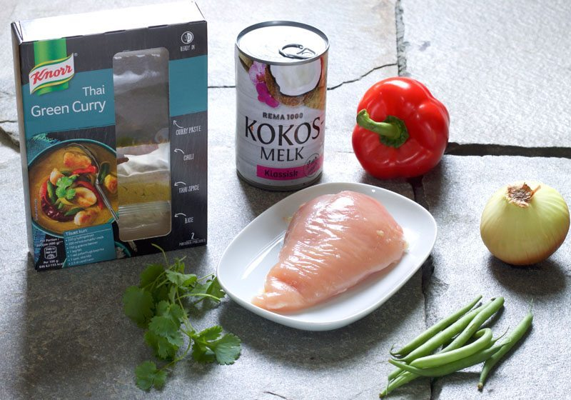 Knorr Thai green curry